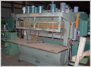 Cemco 6 Spindle Horiz Table & Leaf Boring Machine